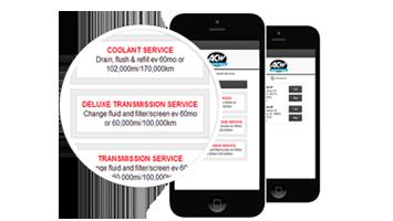 ezCarTrax - An App For Your Customer
