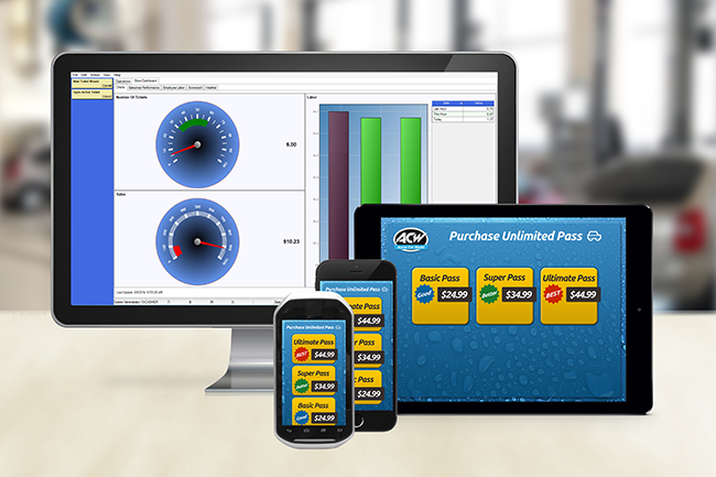 ezWash Desktop and Handheld Car Wash Point Of Sale Software POS